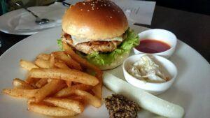 Lemon Herb Chicken Burgers