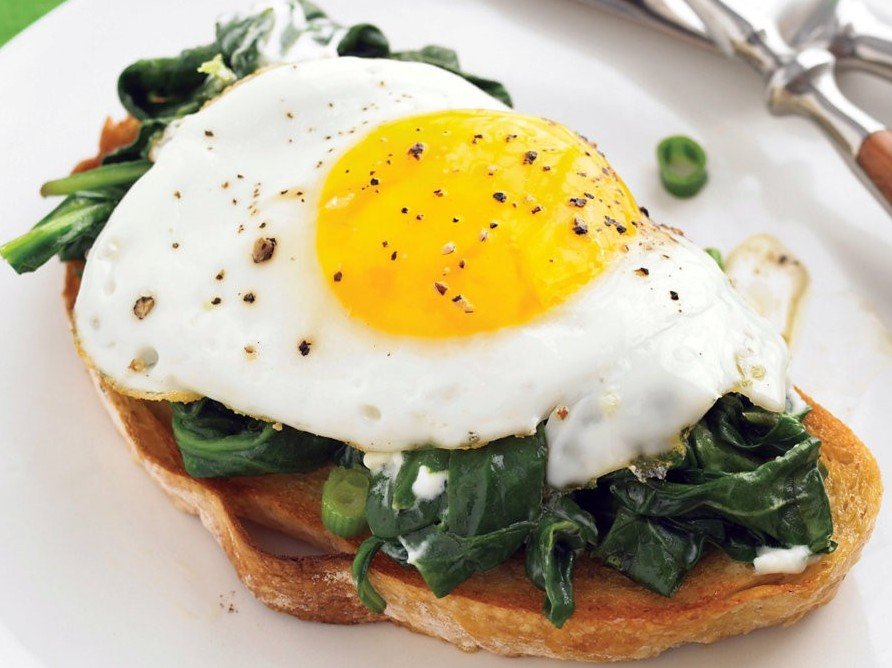 Easy Eggs Florentine