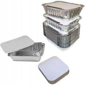 Spare Essentials Foil Pan & Lid Set