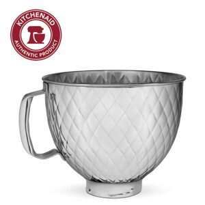 KitchenAid Quilted Stainless Steel Mixing Bowl