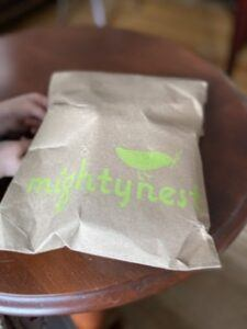 Mighty Nest Recyclable Packaging
