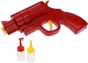 Condiment Dispenser Bottle Gun