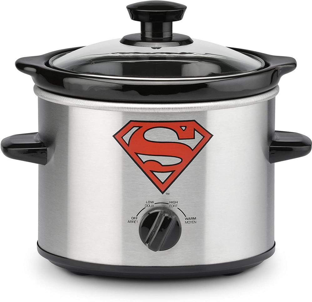 Superman Slow Cooker 2 Quart