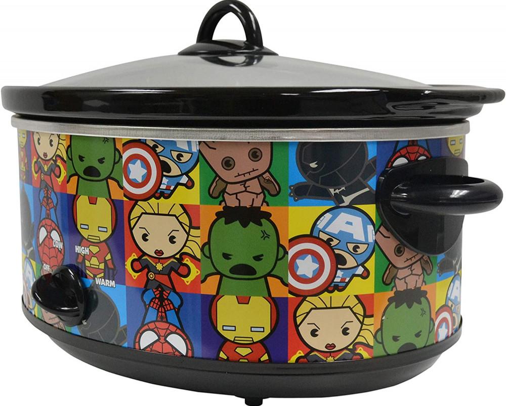 Marvel Kawaii Slow Cooker 7 Quart