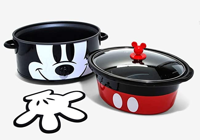 Disney Mickey Mouse 90th Anniversary Slow Cooker 6-quart