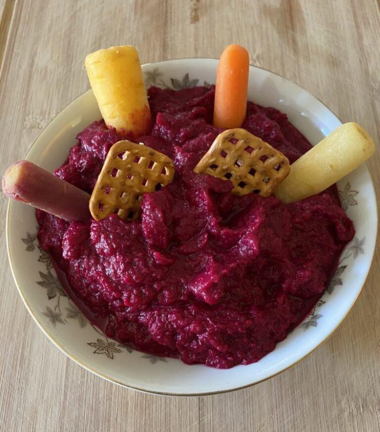 Roasted Red Beet Hummus