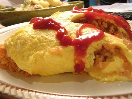 Japanese Omurice (Rice Omelette)