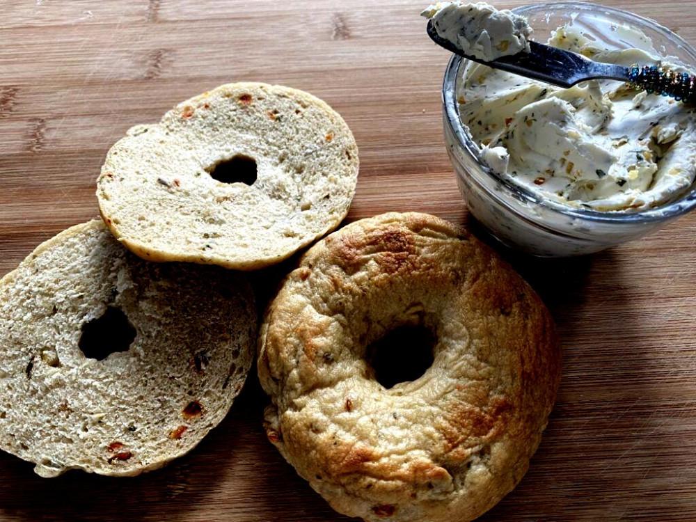 Gourmet Veggie Bagel