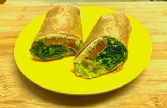 Chicken Guacamole Wrap